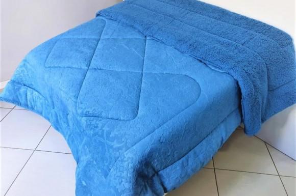 Coberdon Ovelha 1,60X2,20m - Azul