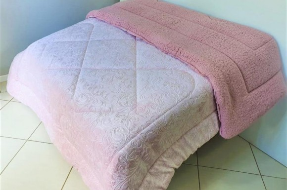 Coberdon Ovelha 2,50X2,70m - Rosa
