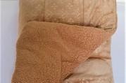 Coberdon Ovelha 2,20X2,50m - Caramelo