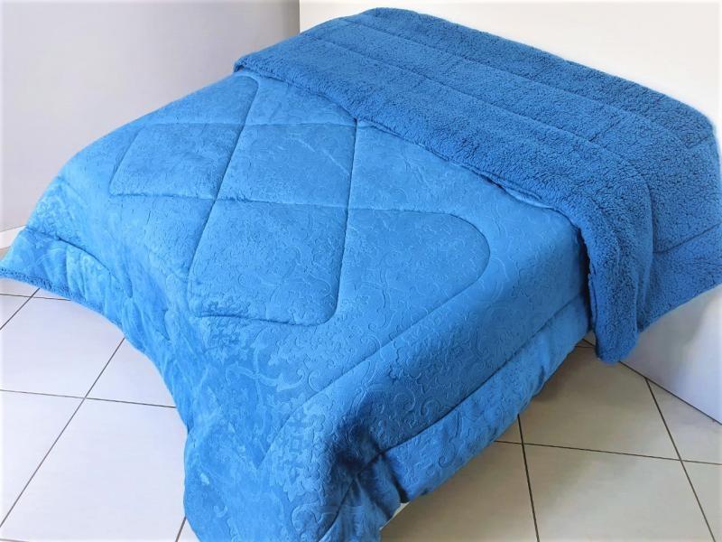 Coberdon Ovelha 1,60X2,20m - Azul_1