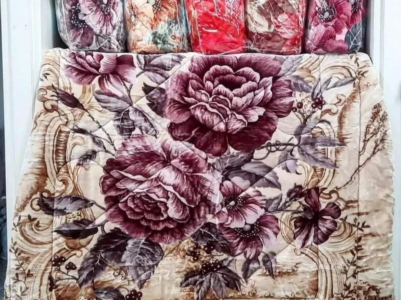 Coberdon Tradicional Floral Vermelho_2