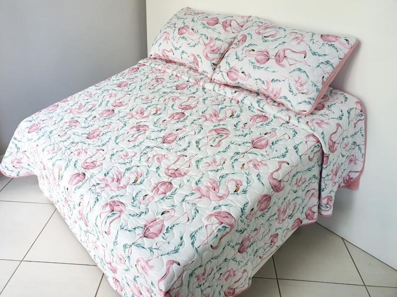 Cobre Leito 2,20X2,50m Flamingo_1